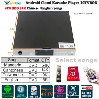 AK3C07,Android Karaoke Player,Jukebox,ECHO Mixing,DVD Play