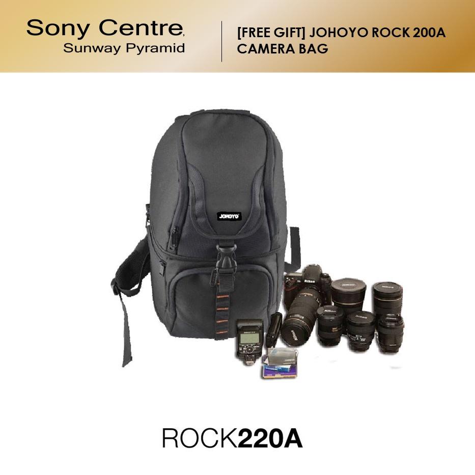 [FREE GIFT] JOHOYO ROCK 200A CAMERA BAG