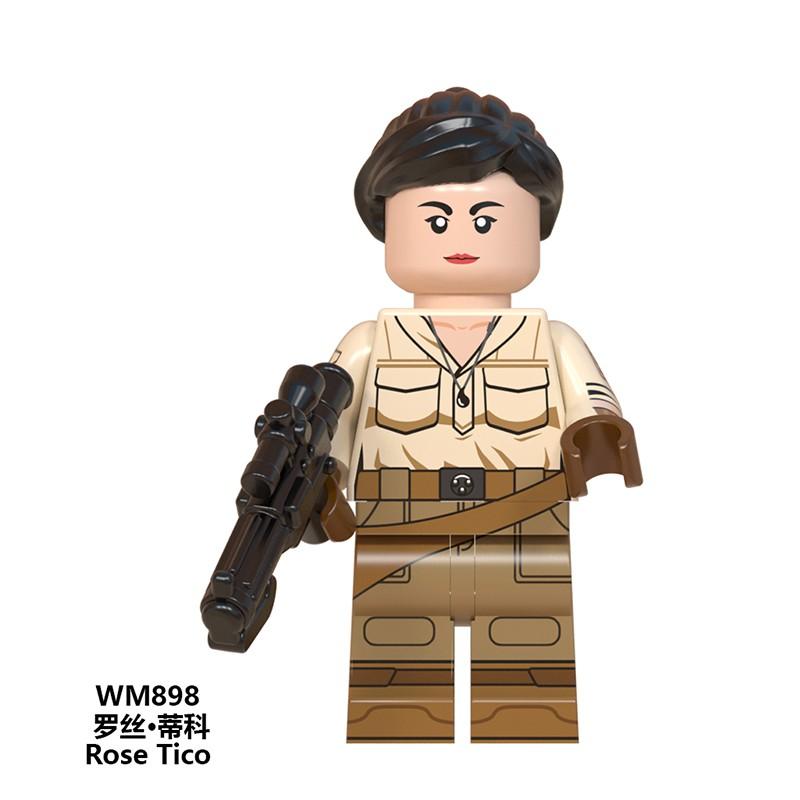 Jannah Custom Minifiguren MOC Lego Toy Star Wars Rise of Skywalker WM897