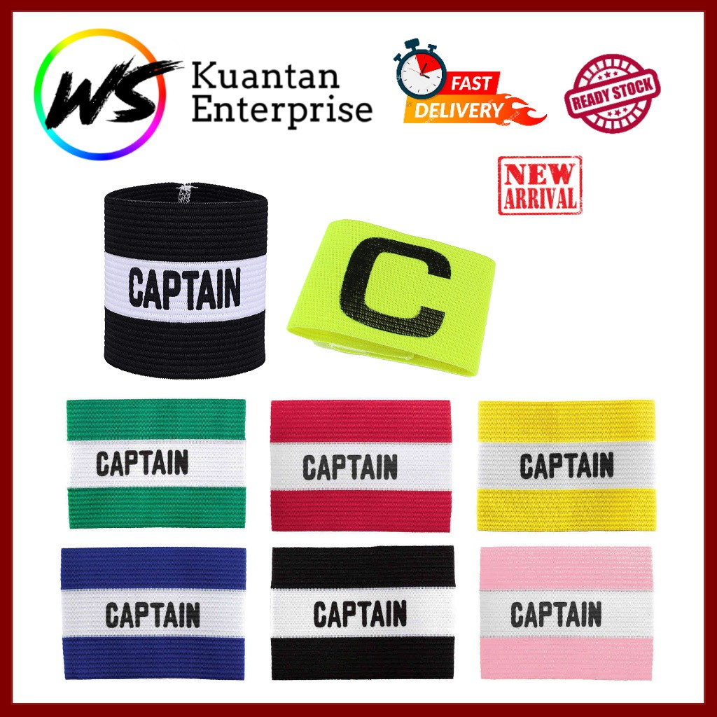 【100% Ready Stock】Adjustable Captain Band / Arm Band