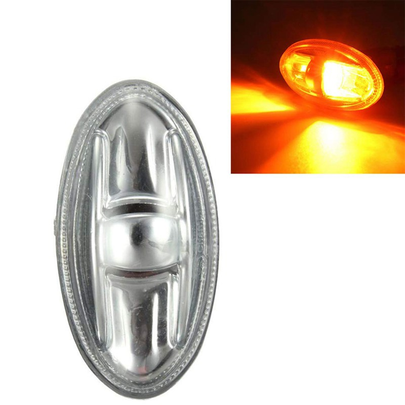 2x Partner Side Indicator Repeater Light 6325G3 For Peugeot 108 107 206 1007 407