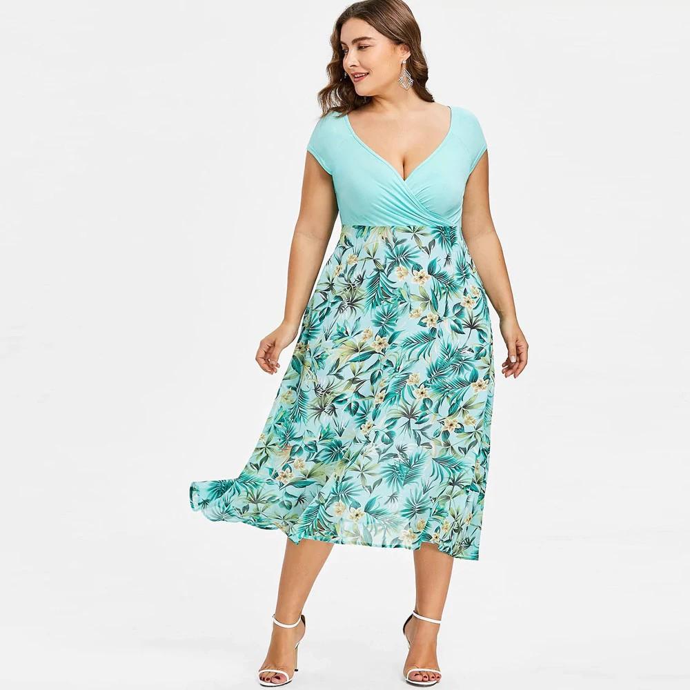 6451093e6 Feitong Plus Size Boho Womens Dress Ladies Casual Pocket Loose Dress Crew  Neck M   Shopee Malaysia