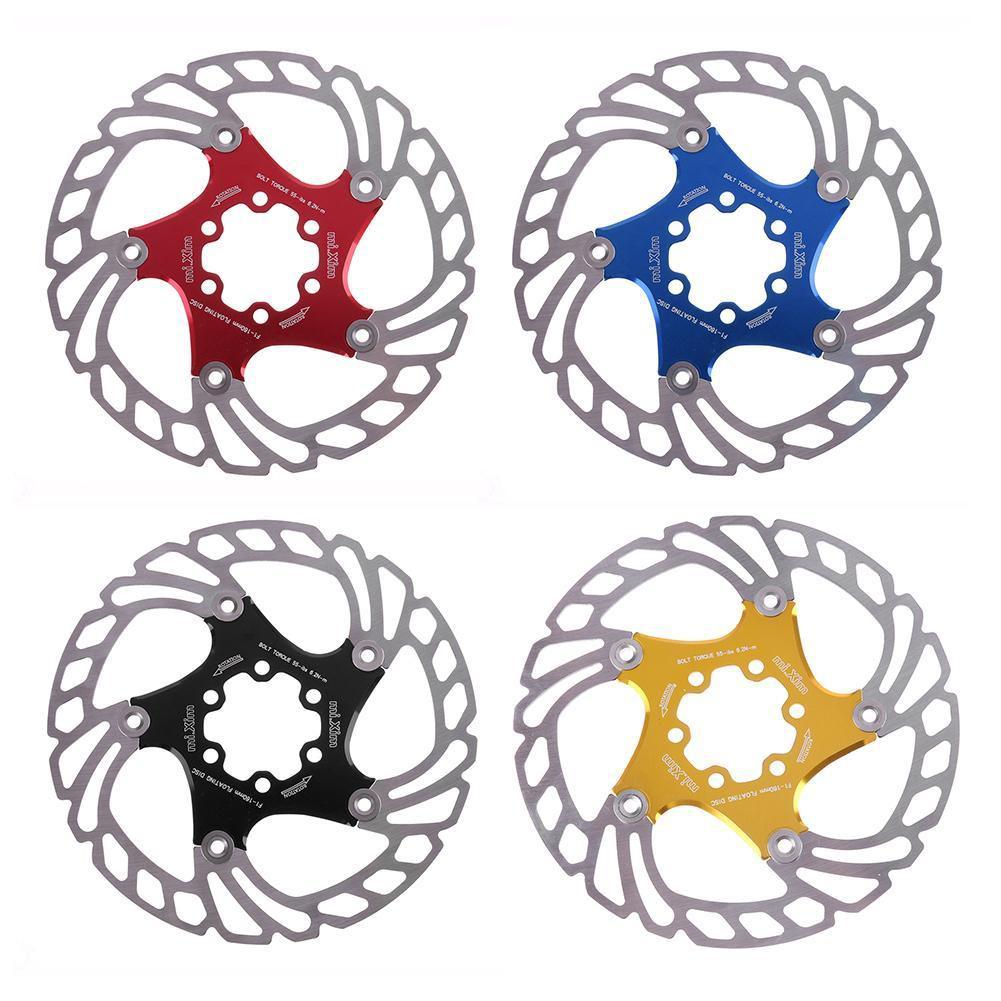 HIO❤MTB Mountain Road Bike 160mm 6in Disc Brake Floating Rotor Bicycle Parts