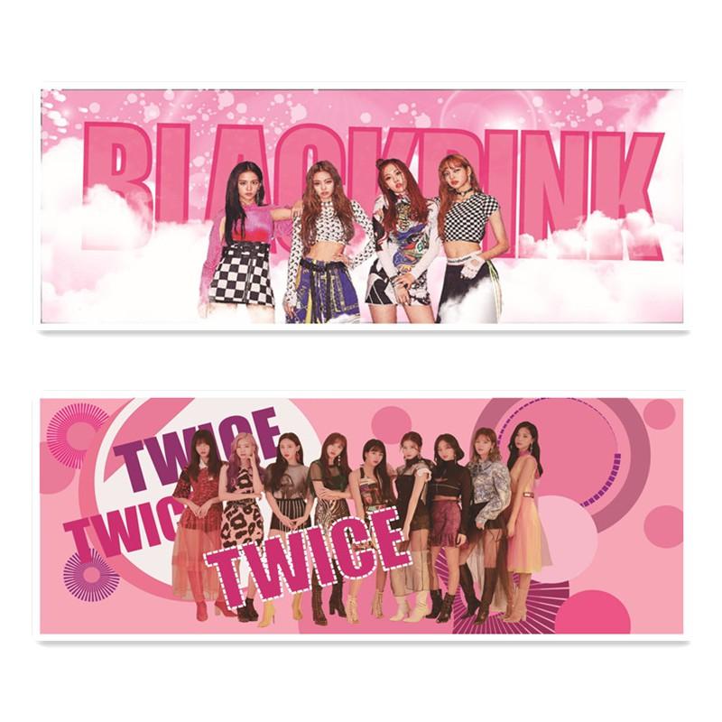 Kpop Twice Blackpink Fabric Logo Support Hand Banner Concert Supply Shopee Malaysia