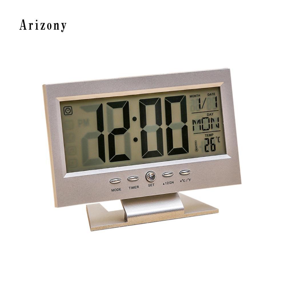 24 Timer Sound home décor alarm clocks & clock radios sound sensor on