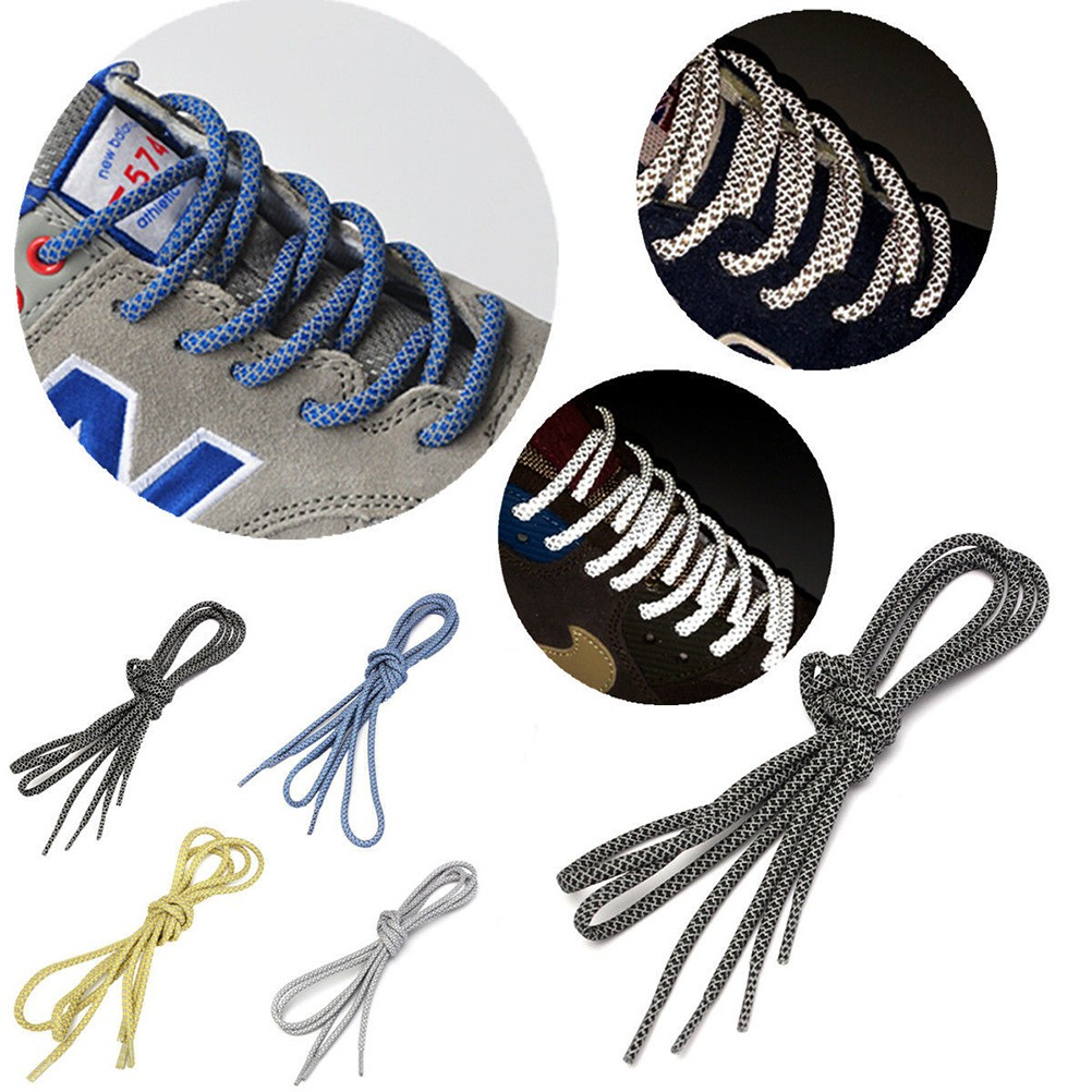 01ec71b0fac48b 3M Reflective Rope Laces Runner Shoelaces For Kith Asics Gel New Balance
