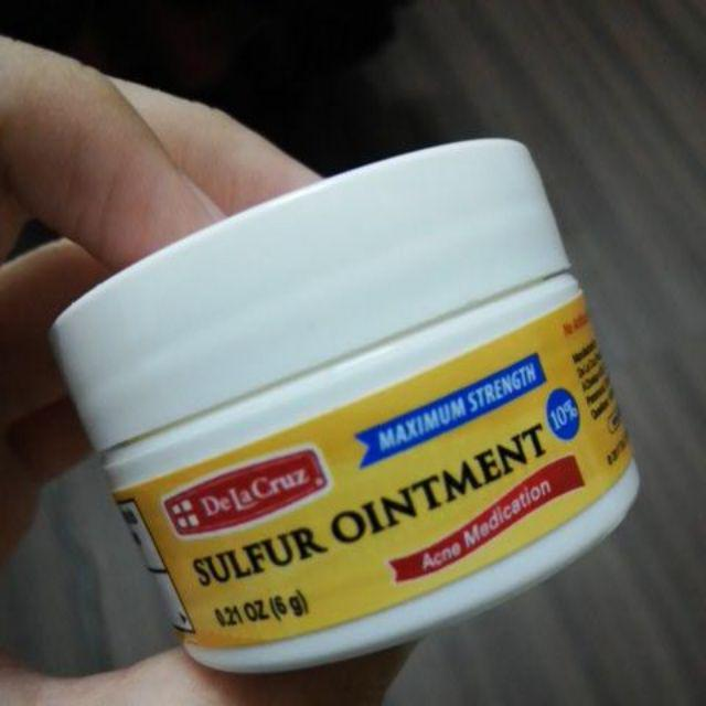 READYSTOCK] De La Cruz Sulphur Ointment   Shopee Malaysia