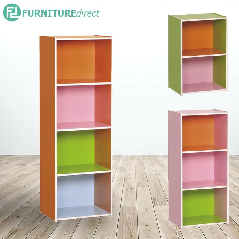 Furniture DIrect JAYLEN colorful cubes color box