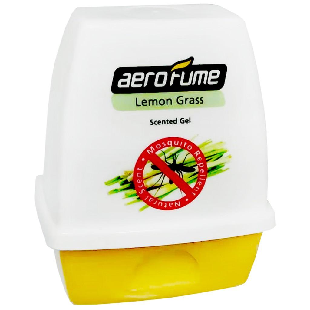SHL Scented Gel Air Freshener (Lemon Grass) (Mosquito Repellent) Pewangi Serai Nyamuk Lemongrass Harum Wangi