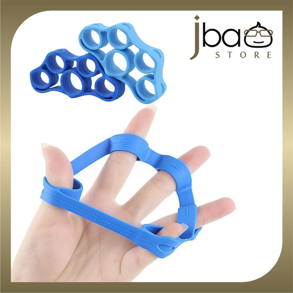 3 in 1 Silicone Therapy Fingers Strength Resistance Ring Stretcher Training Exercise