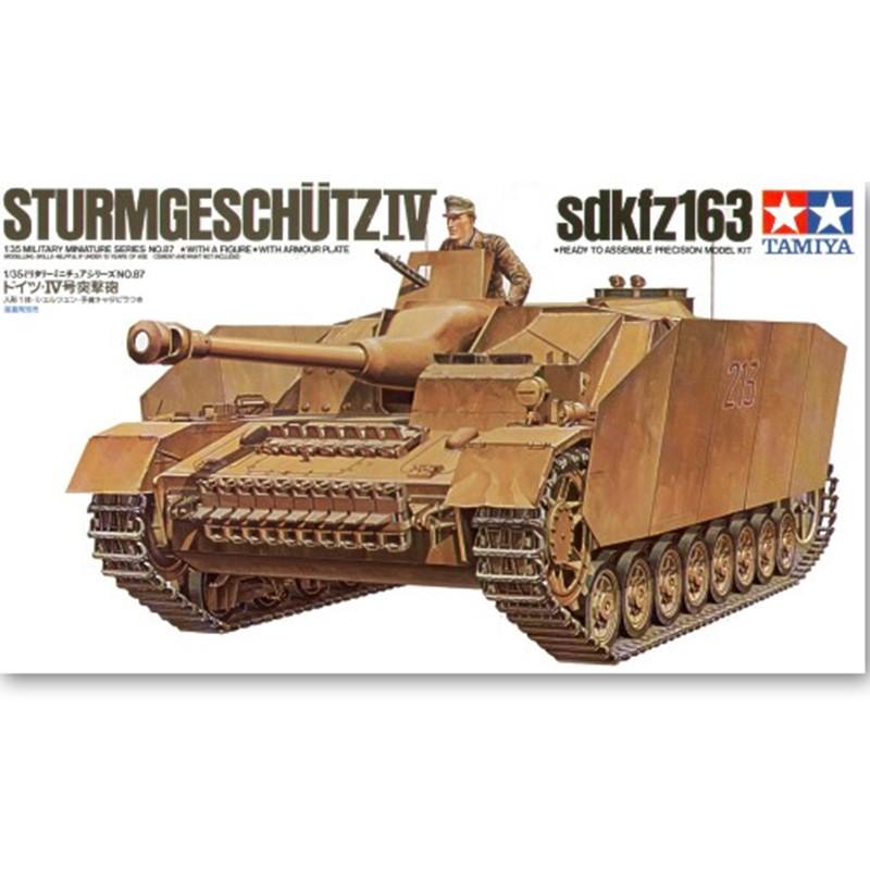 Tamiya German Sturmgeschutz IV Sd.Kfz.163 1//35 Scale #35087
