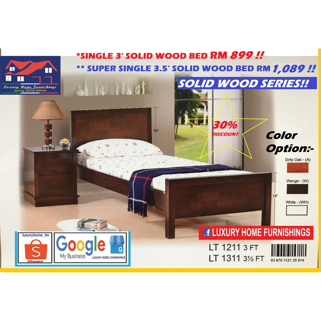 SOLID WOOD BED COLLECTIONS A