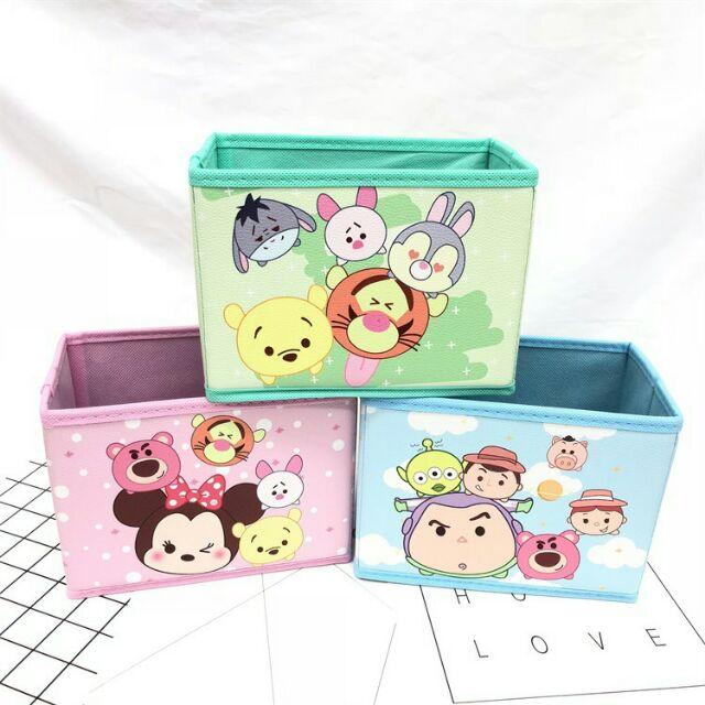 Tsum Tsum Disney Mickey Mouse Storage Box Cute Box