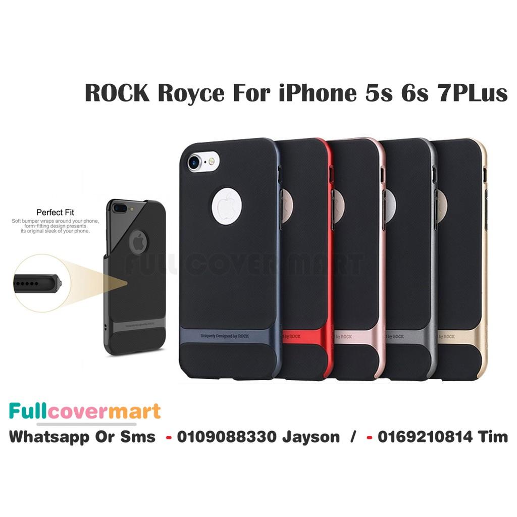 Apple iPhone 5s 6s 6s Plus 7 7 Plus Rock Royce Slim Cover Case ... e2db4b28fd