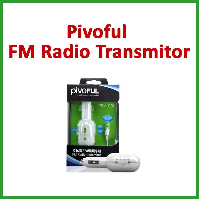 SPECIAL OFFER! SET 2 Pivoful FM Radio Transmitor