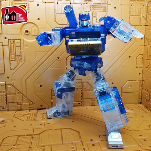 THF01 MP13 Clear Limited Version Soundwave,In stock!