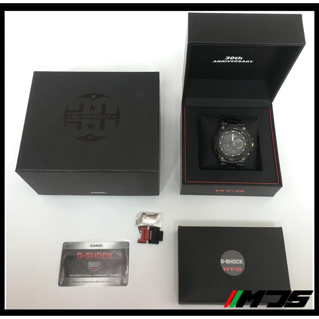 [USED] Casio G-shock 30th Anniversary MTG-S1030BD-1AJR 1000 Limited