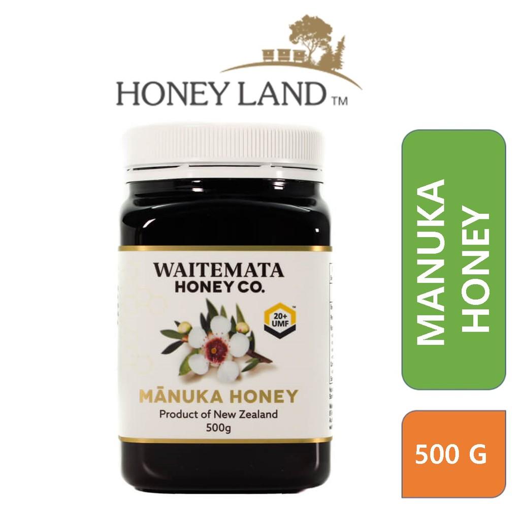 Waitemata – Manuka Honey UMF 20+ (500g) 100% Madu Asli Organik