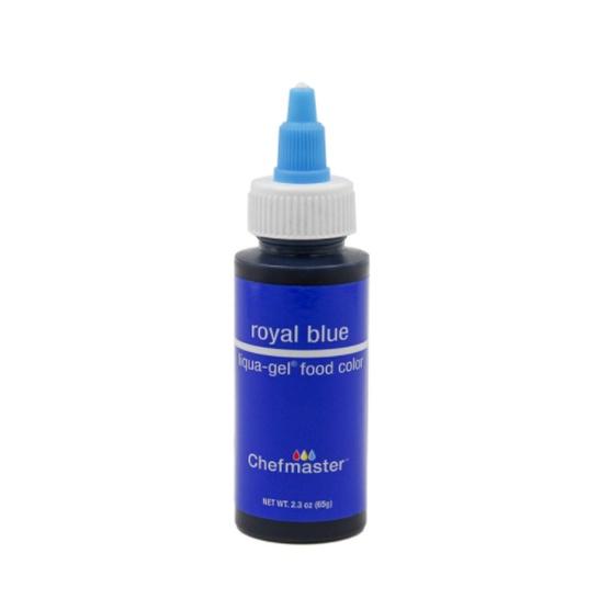 Liquid Colors - Water Based (Liqua Gel), Royal Blue, 2.3 oz (5011)