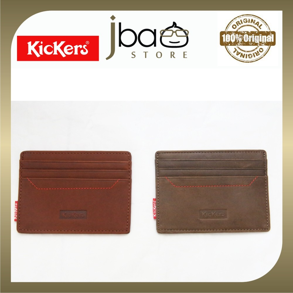 Kickers C87100-A Leather Pocket Wallet Credit Access T&G Card Holder