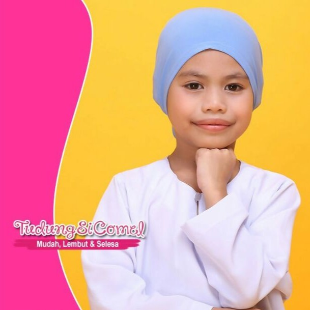 Girl Inner Rainbow Kanak-kanak Perempuan by TUDUNGSICOMEL
