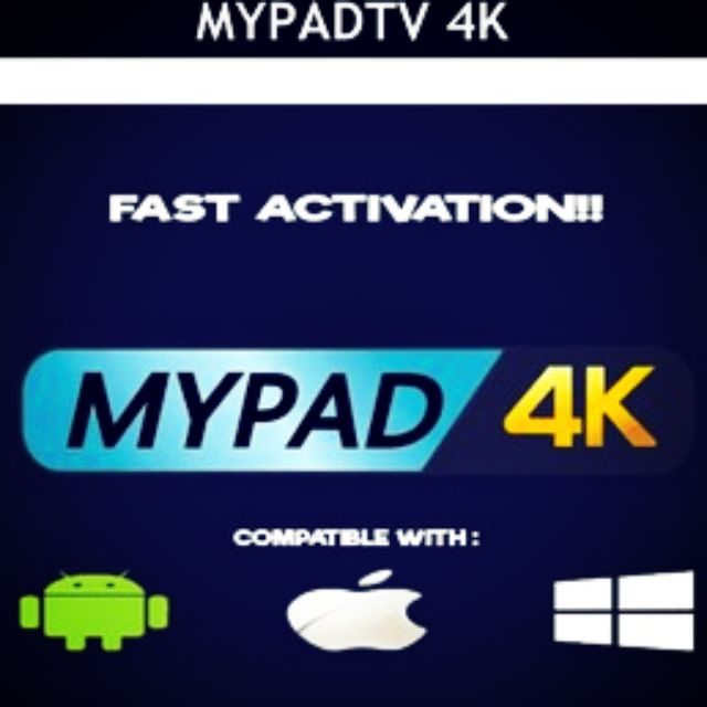 LANGGANAN MYPADTV MYPAD4K MY PAD TV SUBSCRIPTION IPTV UNTUK ANDROIDBOX,  ANDROIDPHONE, IOS, TABLET, PC @LAPTOP WINDOWS