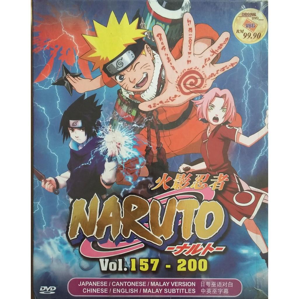 Naruto (Vol157-200) - DVD Movie