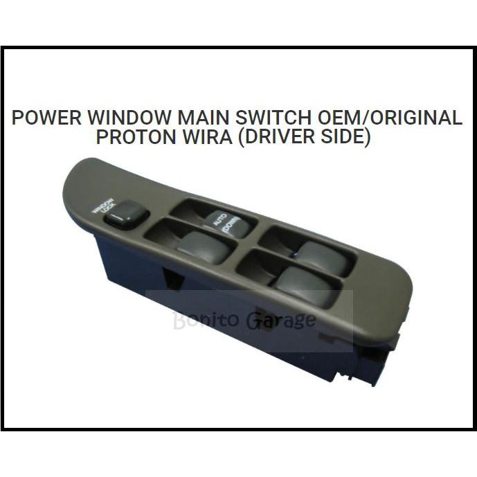 POWER WINDOW MAIN SWITCH OEM/ORIGINAL PROTON WIRA (DRIVER SIDE)