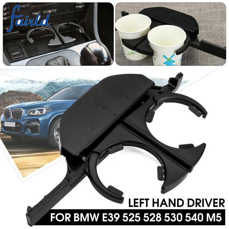 1PCS ABS Black Car Inner Water Cup Holder Stand Cover Fits For Tesla Model 3 New