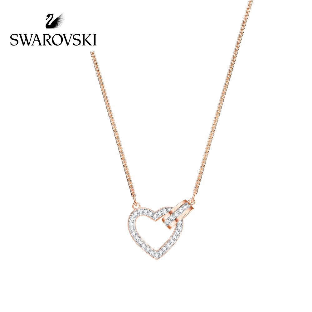 cf07acddffe Swarovski DUO Devil's Eye Necklace Fashion Women's Short Jewelry | Shopee  Malaysia