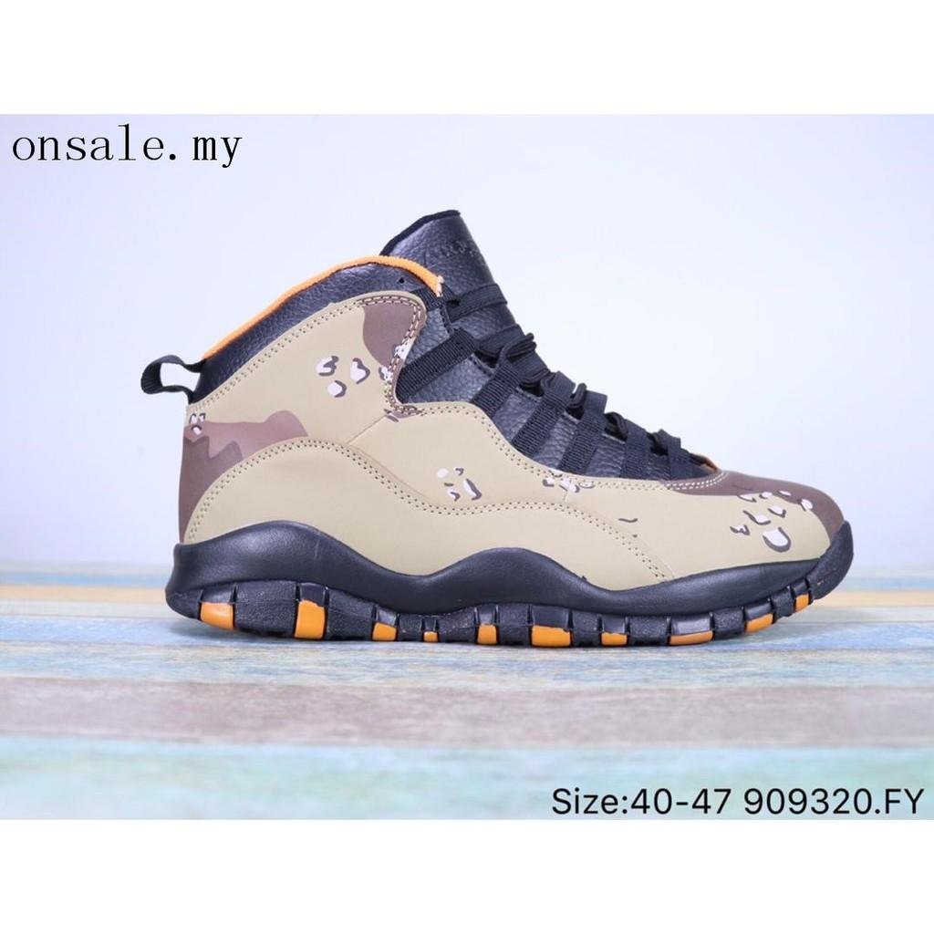 new style adc6f 4f680 Original Nike Air Jordan 10 AJ10 NRG basketball sports sneakers men's shoes