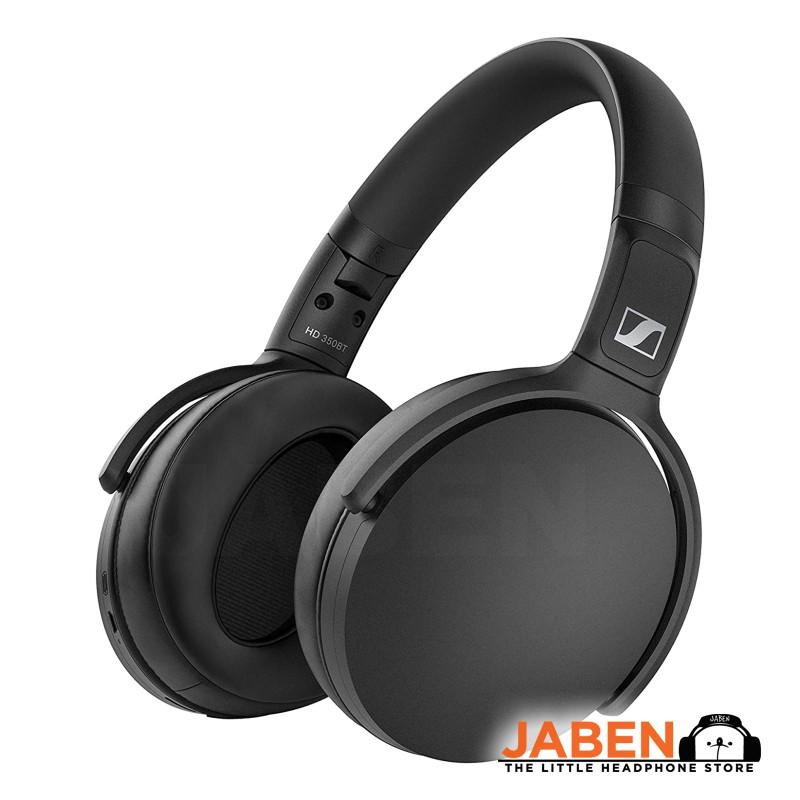 Sennheiser HD 350BT aptX Bluetooth 5.0 Type-C Charging 30 Hours Battery Life Closed Back Over-Ear Headphones [Jaben]
