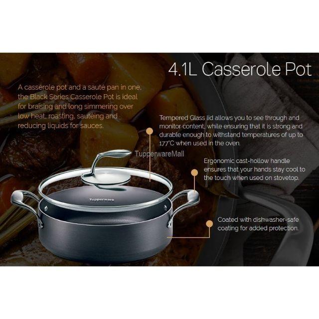 BLACK SERIES Casserole pot Tupperware