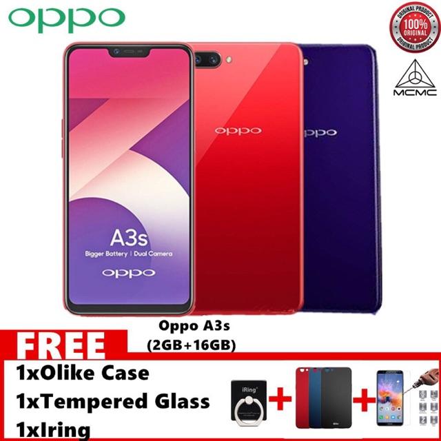 🔥OPPO A3S 2+16/3+32GB(OPPO Original M'Sia Warranty)🔥