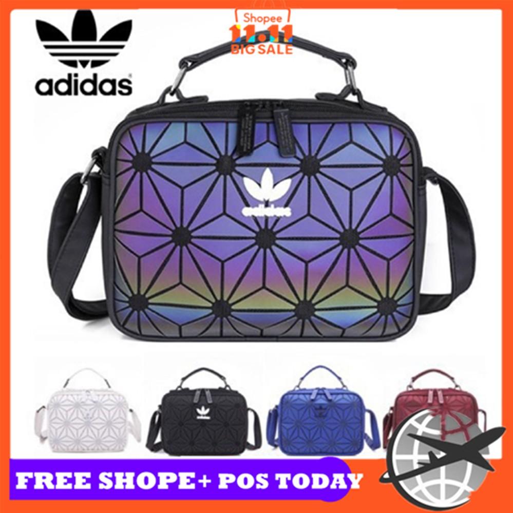 0eb927f129 Adidas x Issey Miyake 3D Urban Mesh Roll Up Black Backpack Bag | Shopee  Malaysia