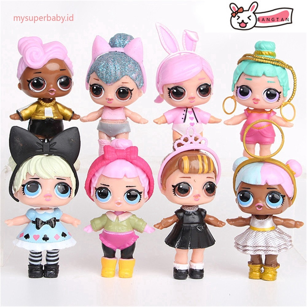 Set of 8 Pcs LoL SURPRISE Surprise Mystery Xmas Toy Doll Surprising Dolls