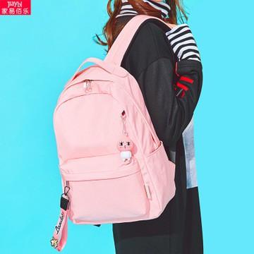 【✨新品❤️现货⚡】中学生书包女双肩包学生韩版校园纯色初中生背包tghte