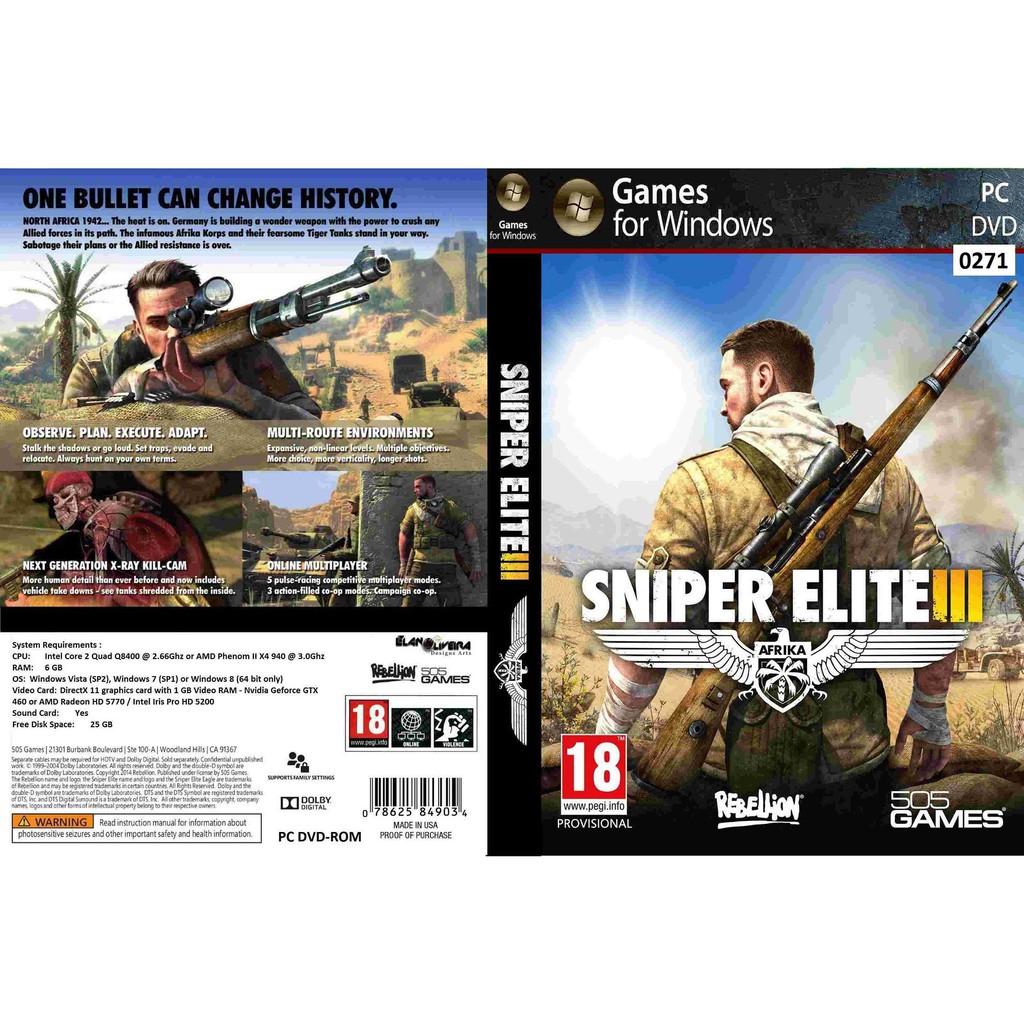 (PC) Sniper Elite 3