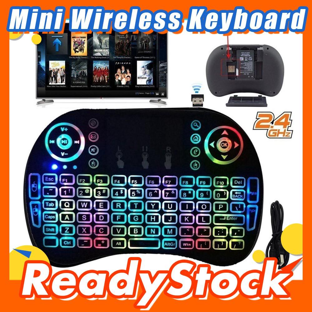 f5b101a10e2 【KiKiMall】Rii mini i6 2.4G 3 in1Touchpad IR Remote mini Wireless Keyboard |  Shopee Malaysia