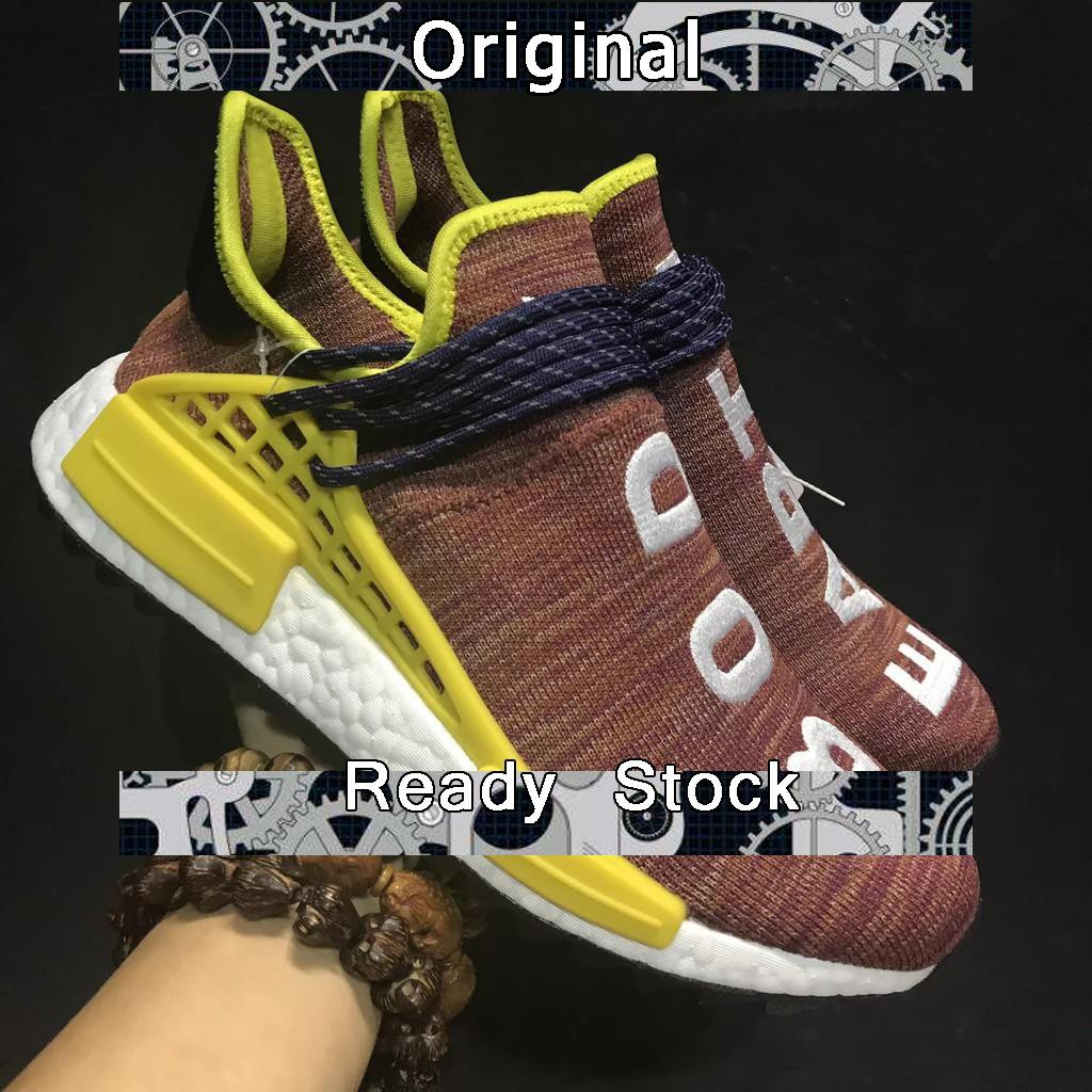 Lírico Gladys cáscara  Ready Stock】Pharrell x adidas bod earth orange color human racer nmd sport  shoe size 40-44 | Shopee Malaysia