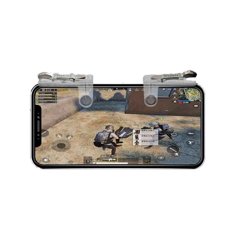 New W18 4in1 Game Holder Gaming Mobile Phone Game Trigger Fire Button L1r1 Shooter Back To Search Resultstoys & Hobbies