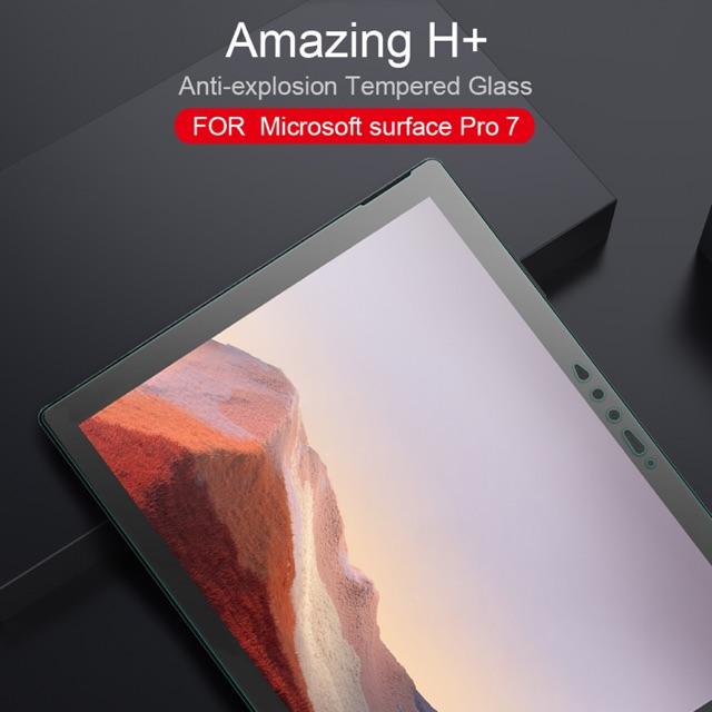 Nillkin ฟิล์มกระจกนิรภัย Microsoft Surface Pro 7 รุ่น Amazing H+ Nanometer Anti-Explosion Tempered Glass 0