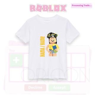 Cute Aesthetic Roblox Gfx Adopt Me Bloxburg Baju Gfx Roblox Tshirt Avatar Gaming Tee Mobile Game Baju Budak Roblox Tee Cotton T Shirt Print Name Shirt Cute Shopee Malaysia