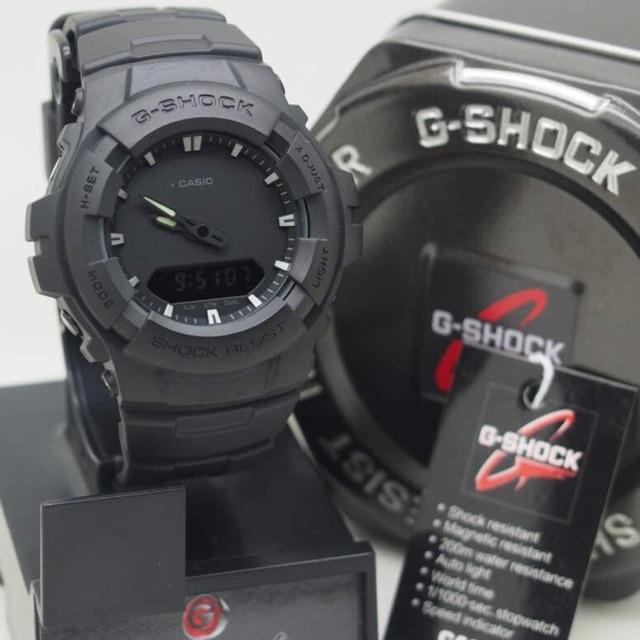 CASIO GSHOCK G-100BB GLOW IN THE DARK COMPLETE SET  c1adb255c2