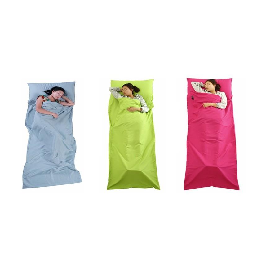 Foldable Polyester Fabric Travel Sleeping Bag