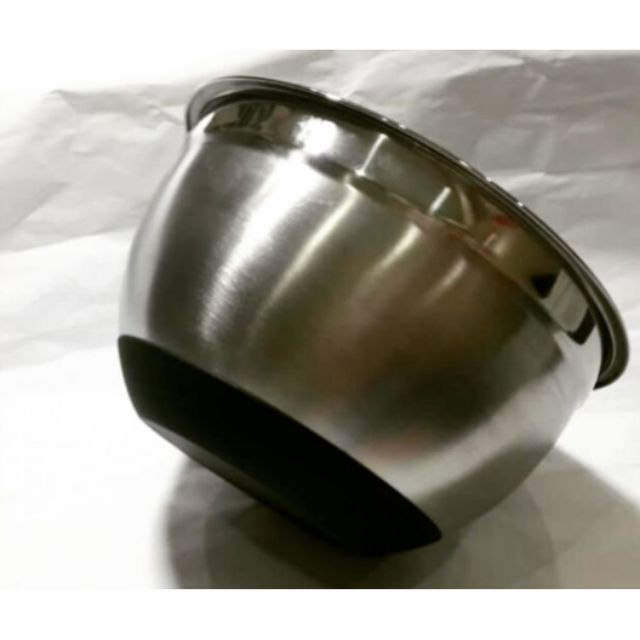 Stainless Steel Mixing Bowl with Silicone Bottom