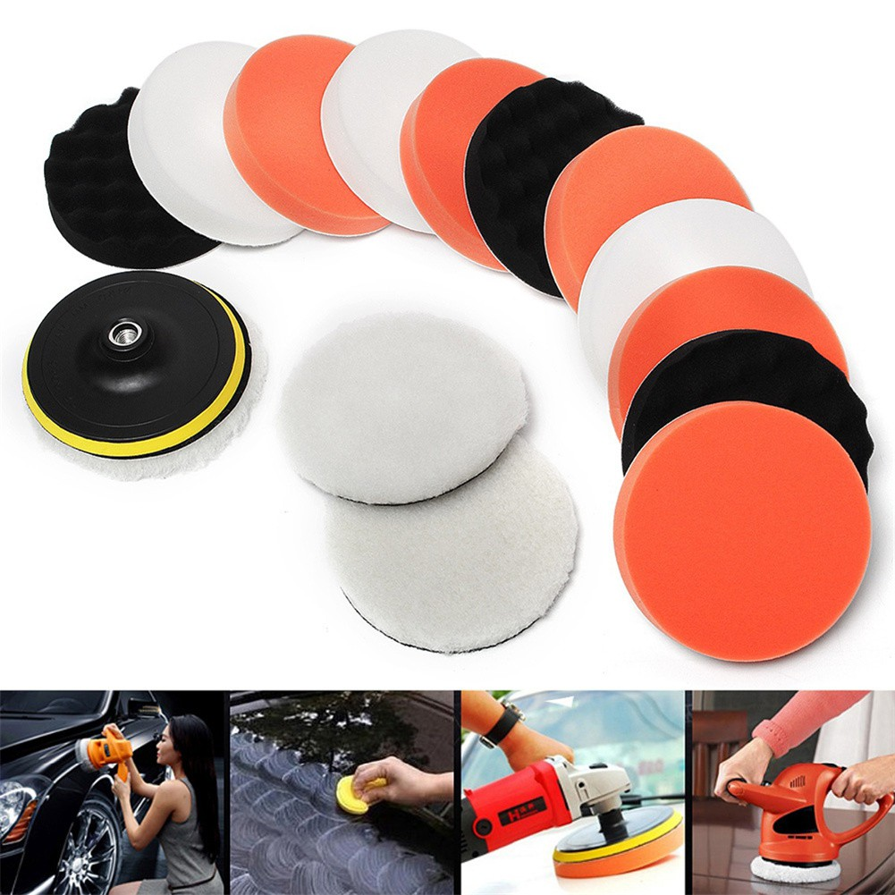 Car Wash & Maintenance Car Accessories.7pcs Automotive Glass Grinding And Polishing 70g Cerium Oxide Polishing Assembly And 2-inch Wheel Spot Rust & Tar Spot Remover
