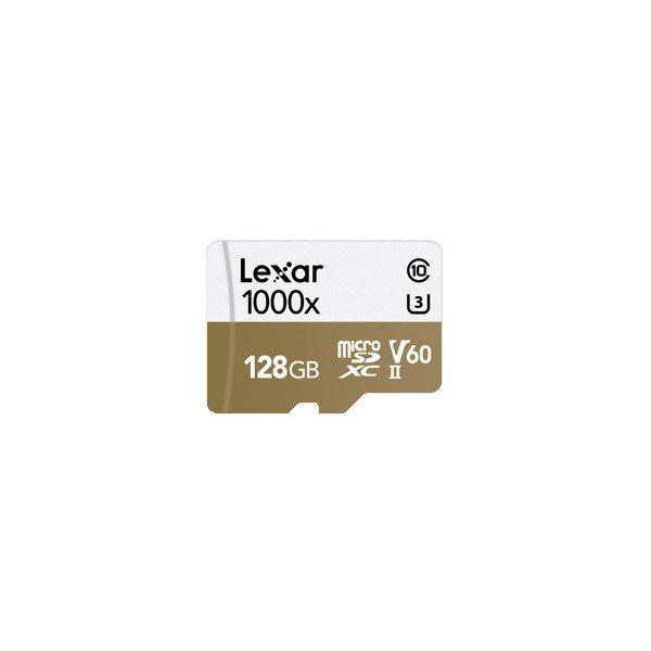 Lexar Professional 128GB MicroSDXC 1000x Class 10 with Card Reader Read 150MB/s
