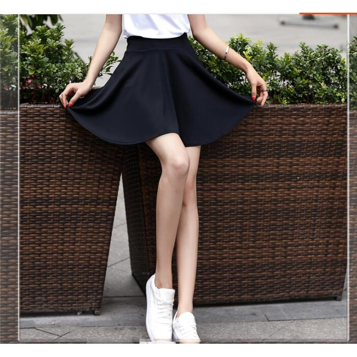28573d05bb Pleated skirt with inner pants | Shopee Malaysia