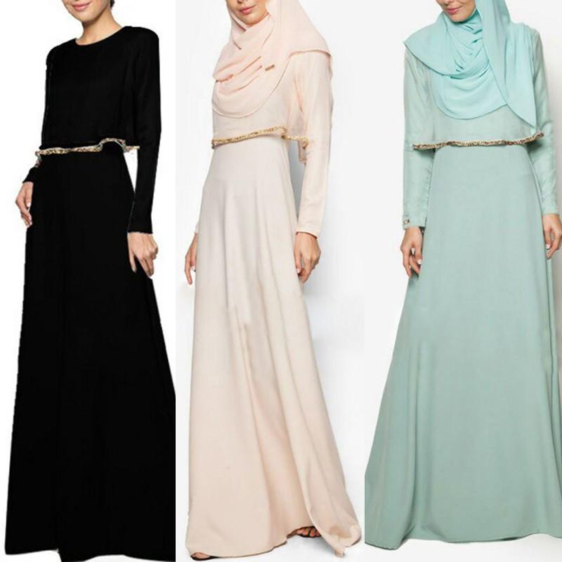 Nadiera Dress Jubah Muslimah Baju Nikah Shopee Malaysia